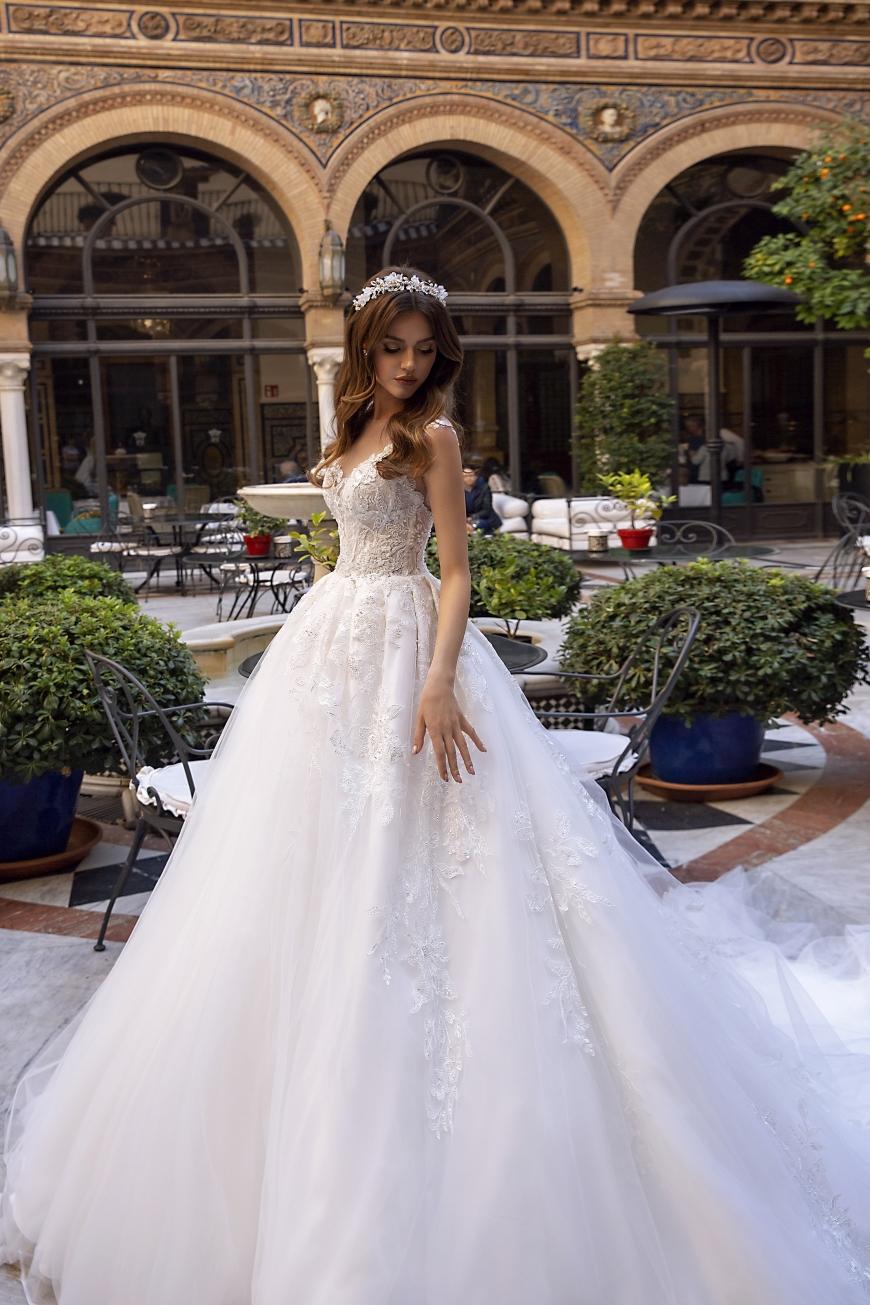 vestido de novia Karlee