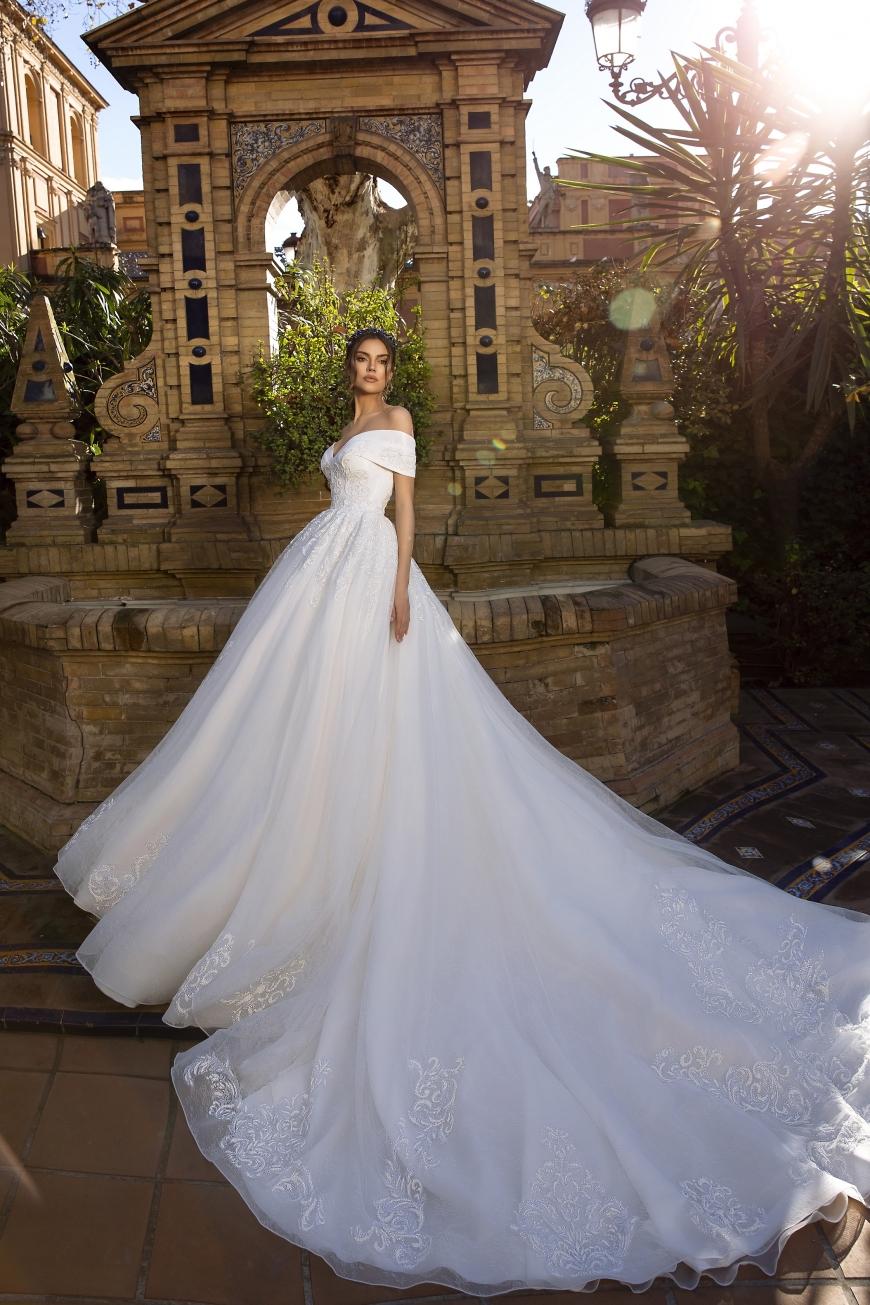 vestido de novia Brenda