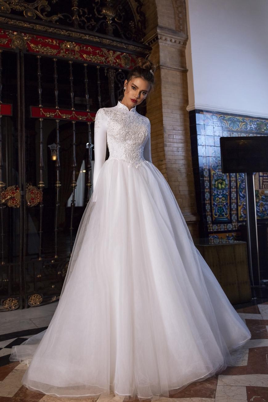 vestido de novia Hailee