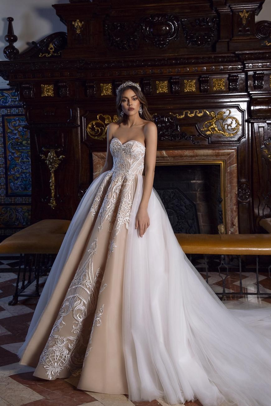 vestido de novias Clementine