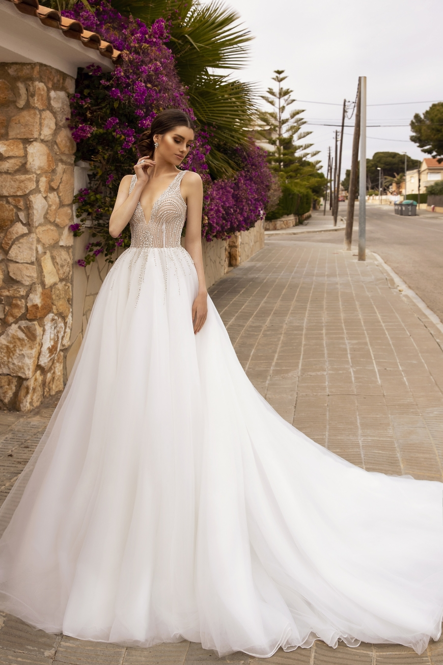 wedding dress amity