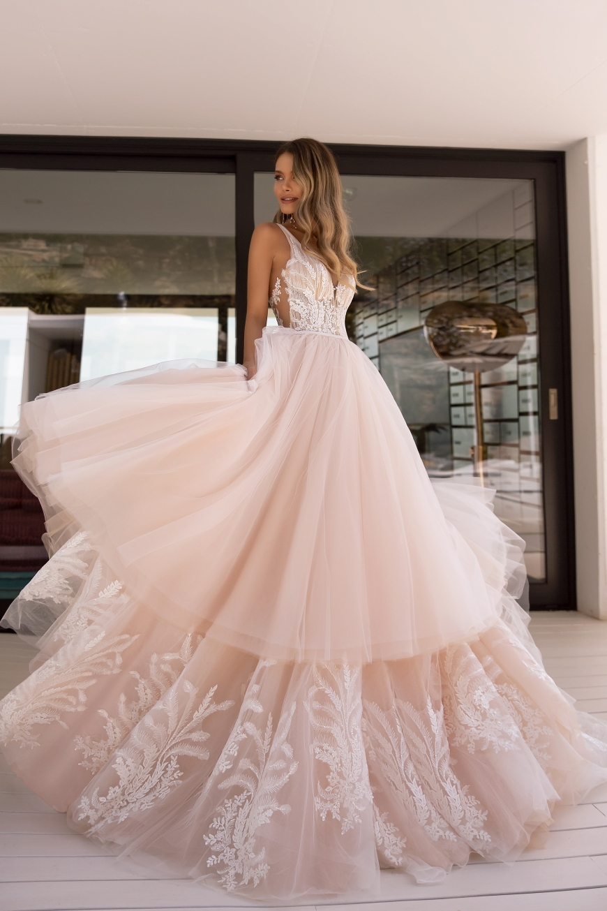 wedding dress perla
