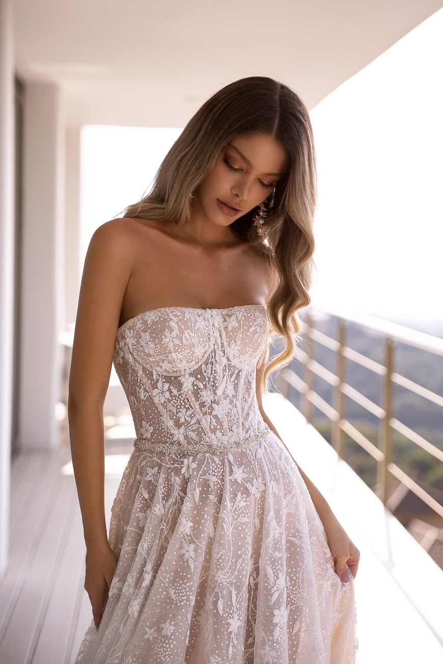 vestido de novia holly