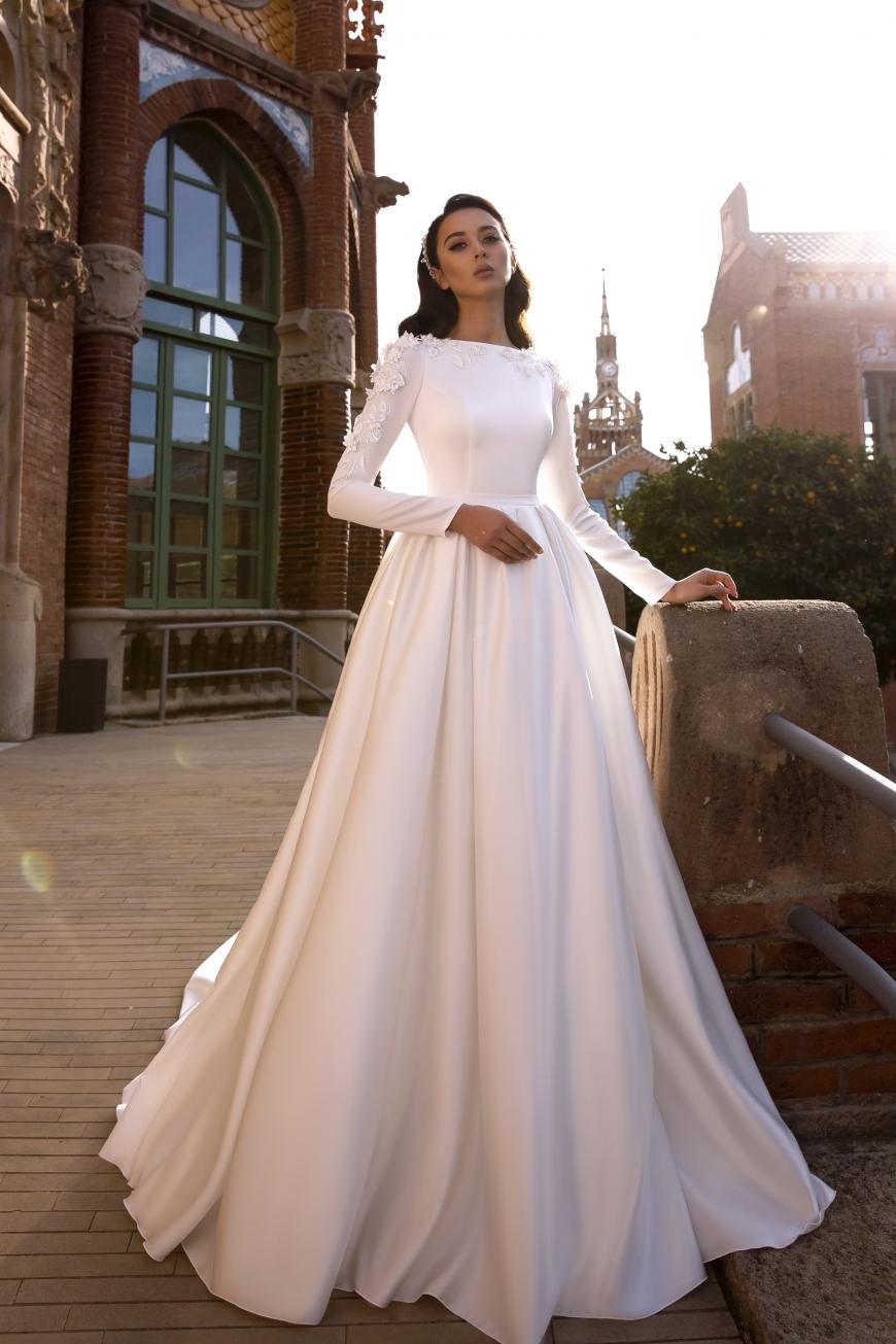 vestido de novia cordelia