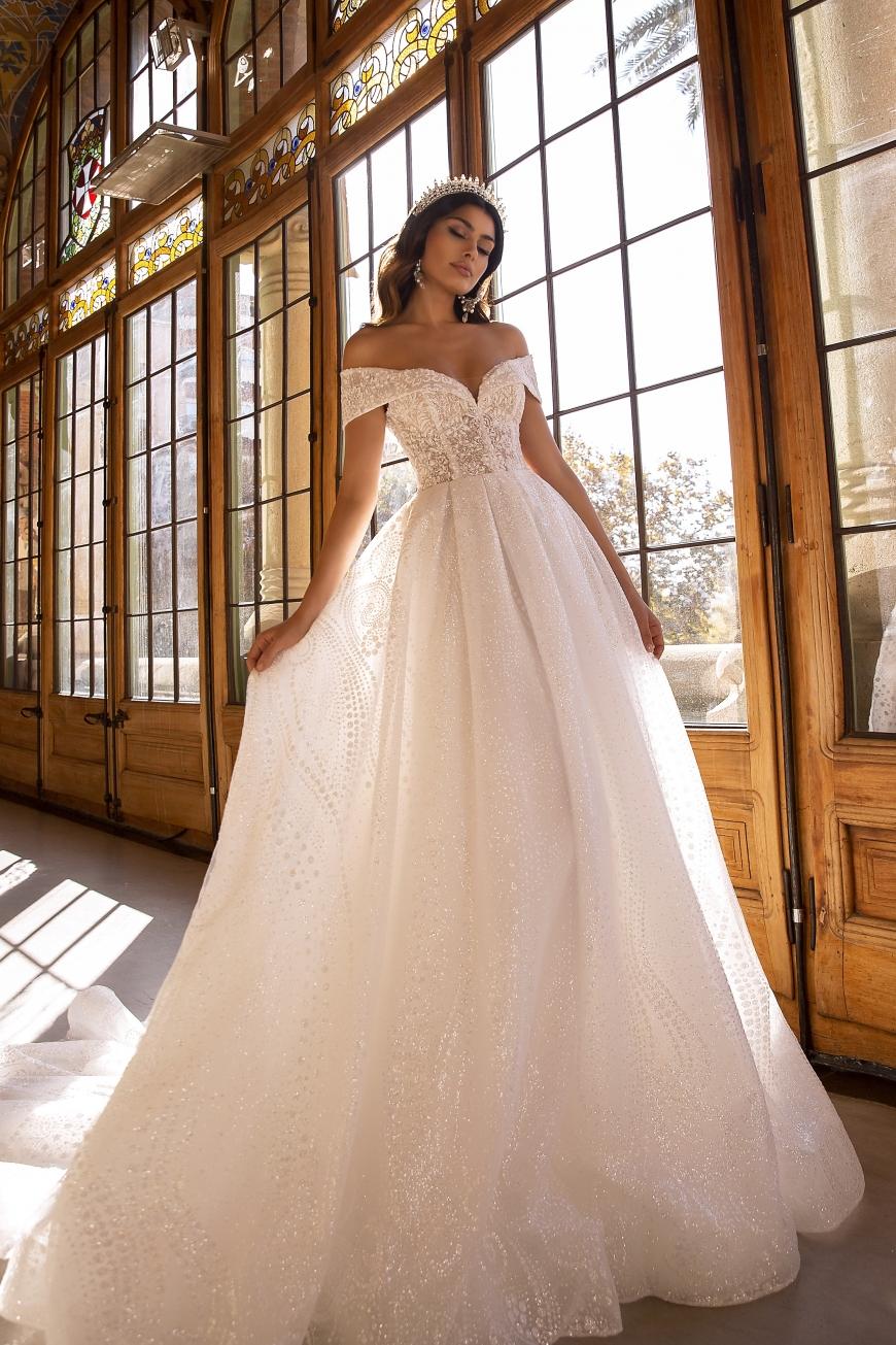vestido de novia lynne