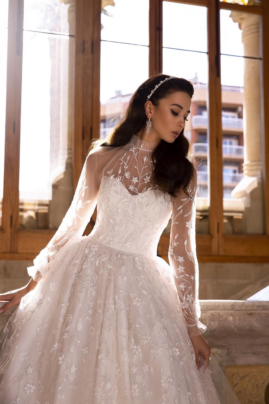 vestido de novia laurel
