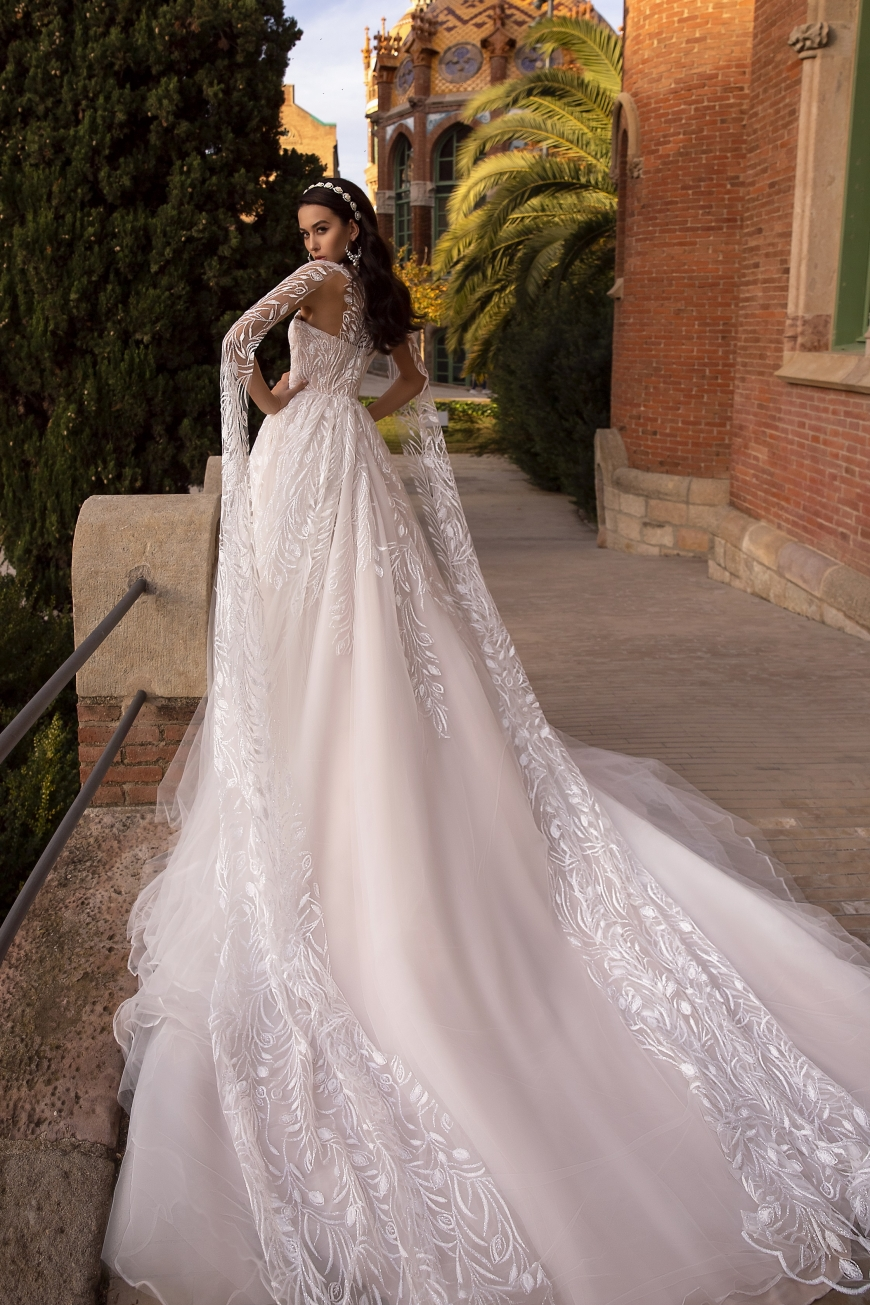 vestido de novia belleza