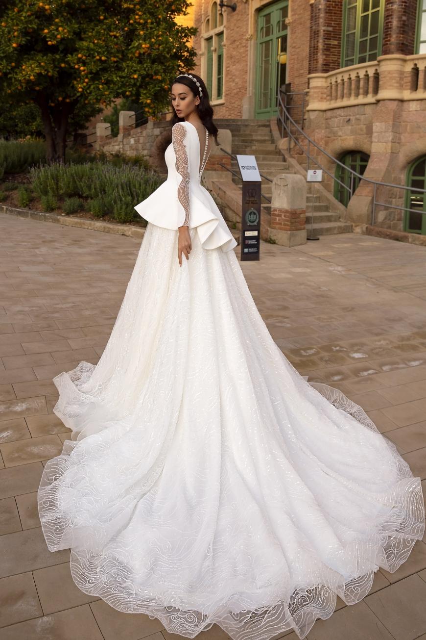 vestido de novia gaia