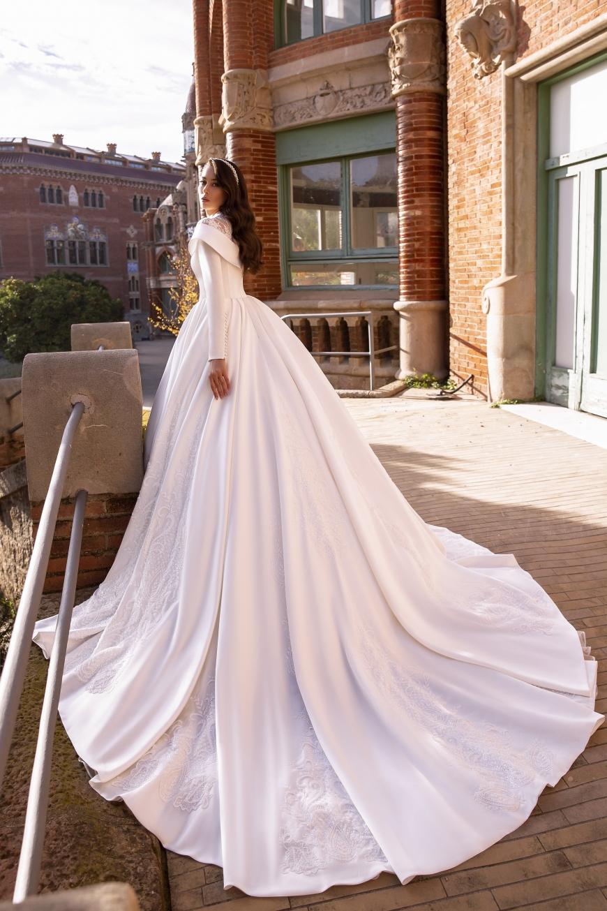 vestido de novia theodora