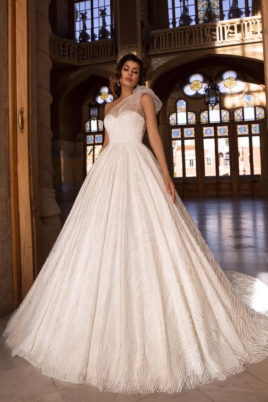 vestido de novia givia