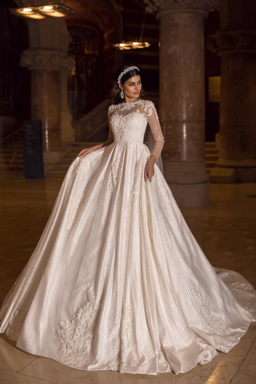 wedding dress flavia