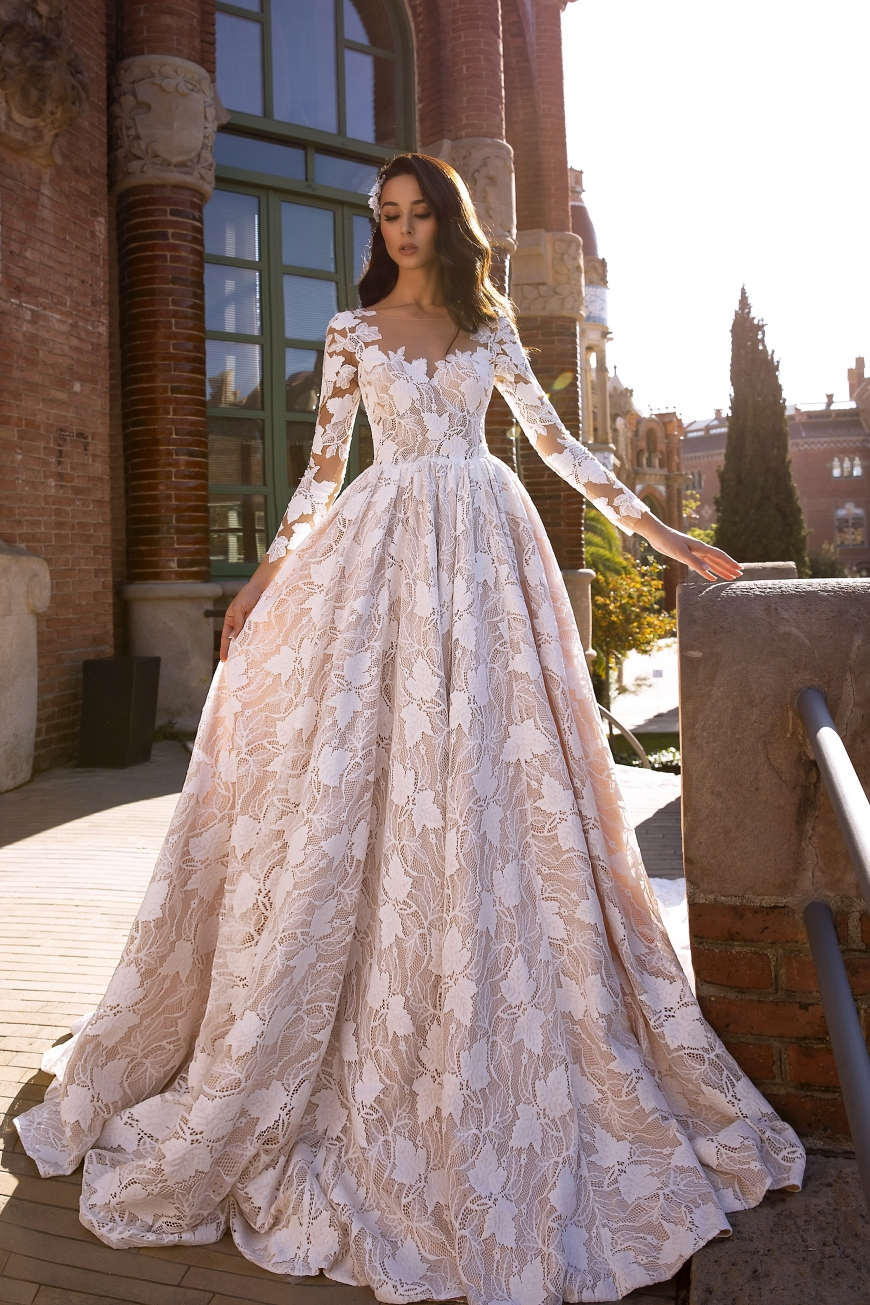 свадебное платье aimee