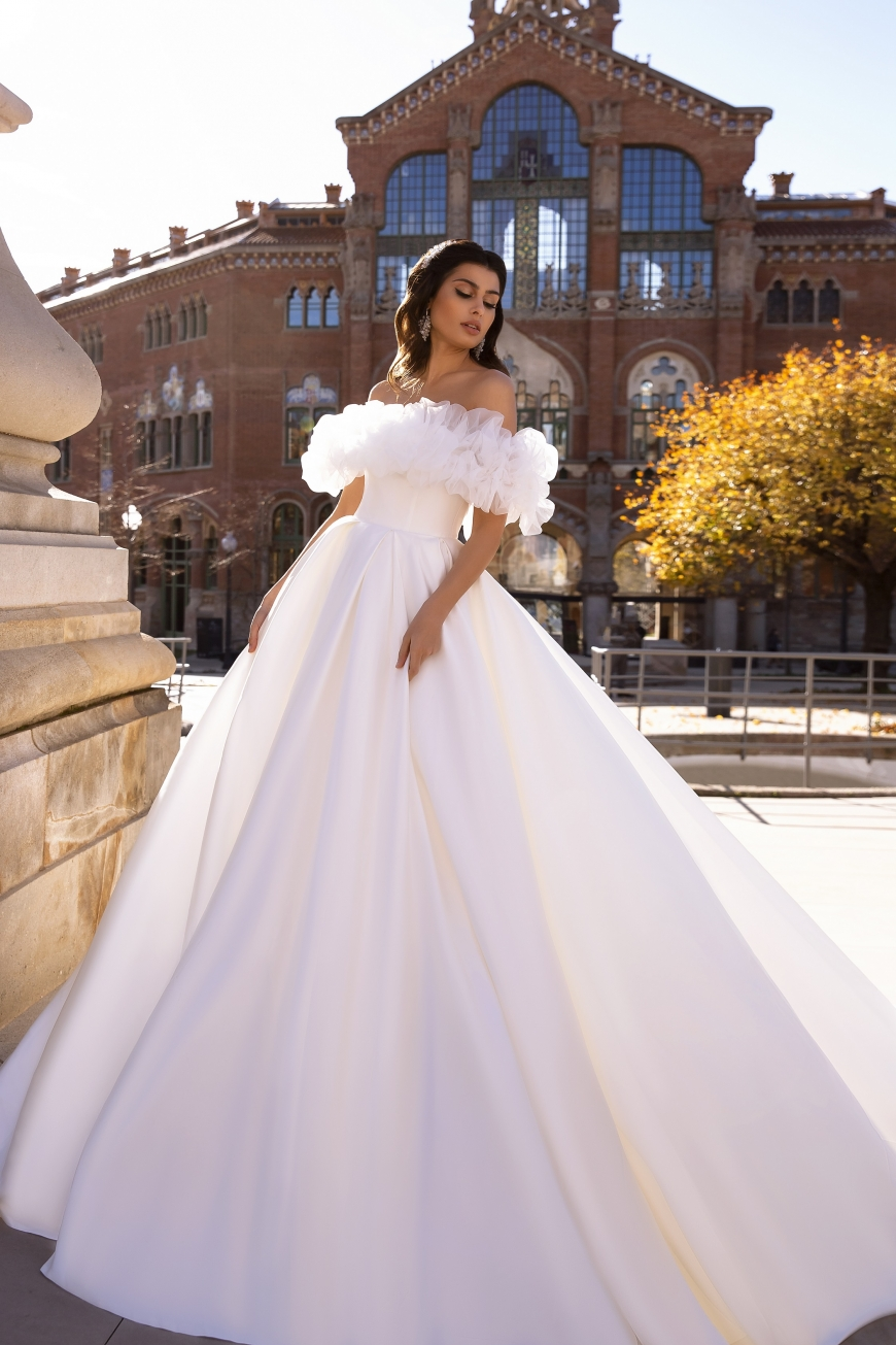свадебное платье fancy