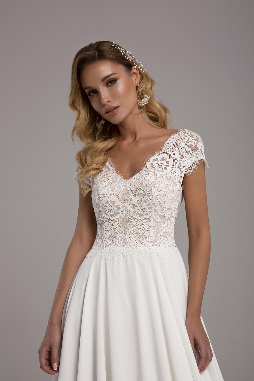 vestido de novia Reina