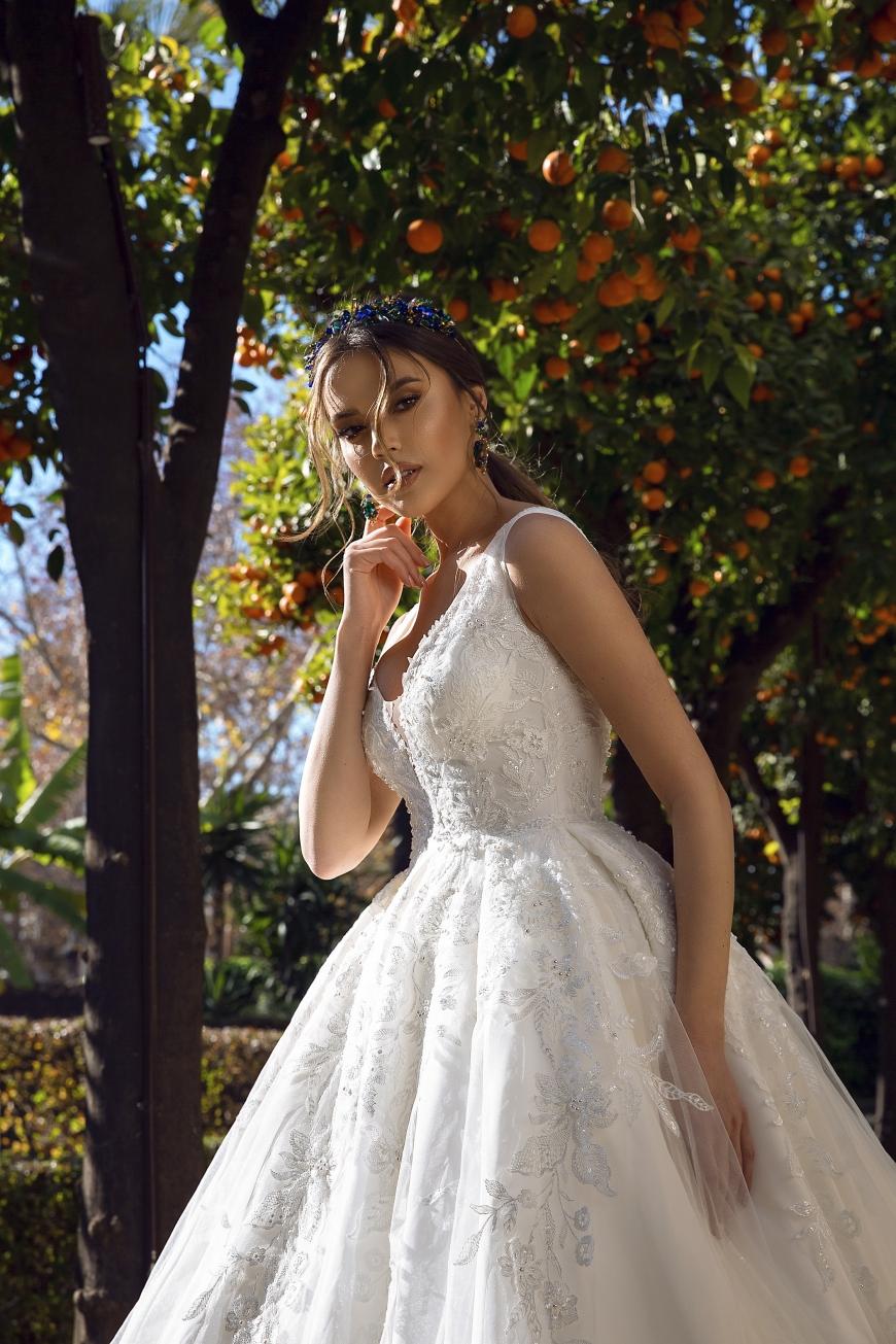 vestido de novia Charlize