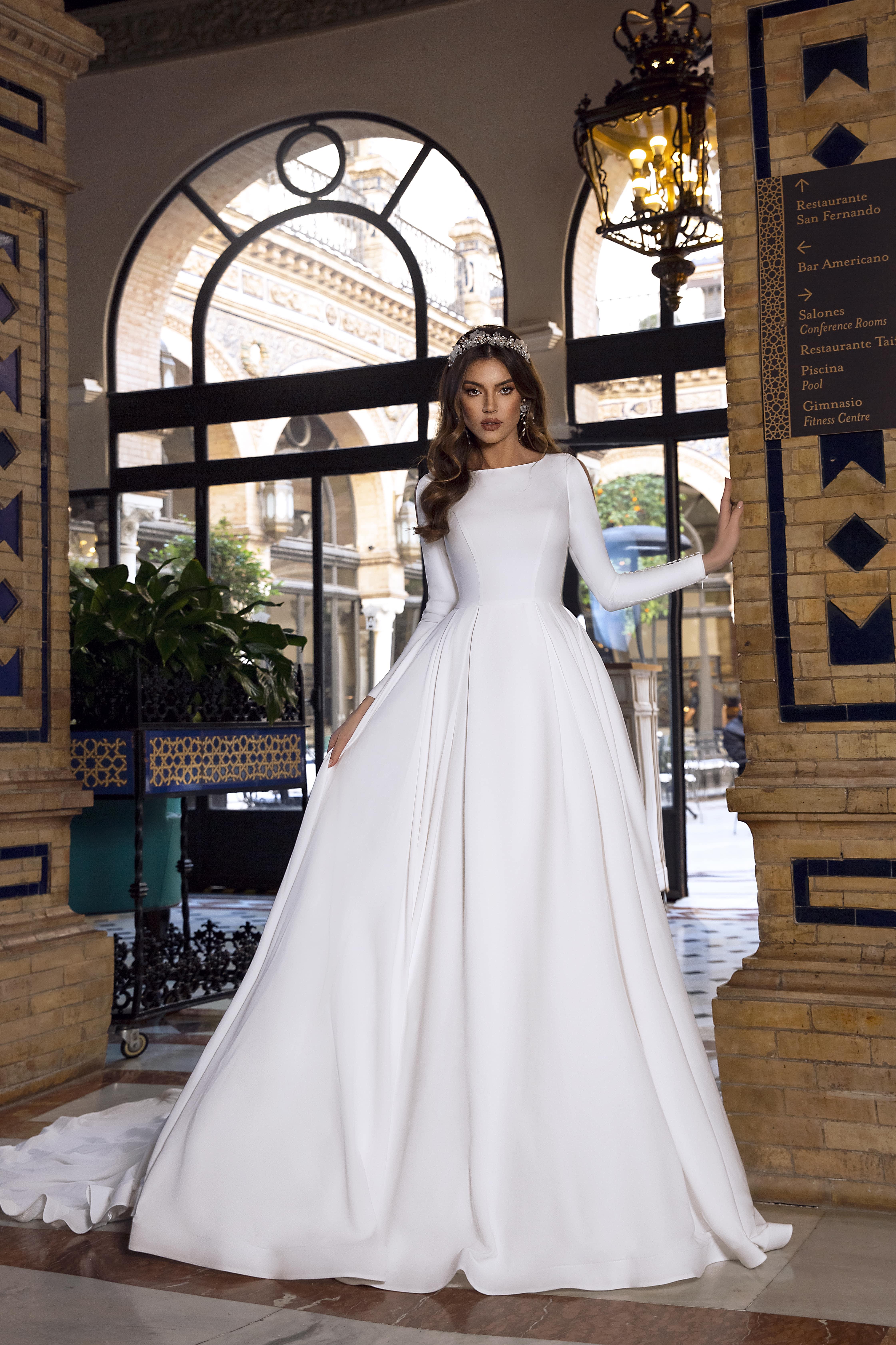 Simple wedding dress styles for elegant brides   Tina Valerdi